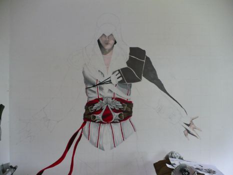 WIP:Ezio by Laminated-TeabaG