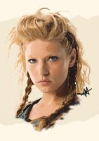 Lagertha - Vikings by Ajanee12