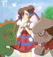 Trainer and pokemon, that love