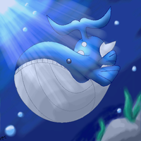 Wailord by Xous54 on DeviantArt Wailmer Evolution Chart