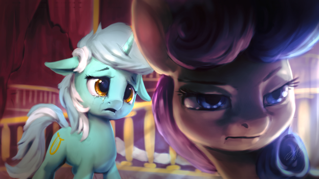 Drops... Sweetie Drops by AssasinMonkey