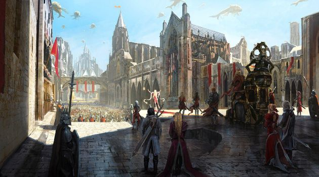 Ceremony of the Flame by merl1ncz