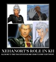 Xehanort demotivational poster by CopperMoon