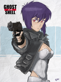 Ghost In The Shell by SpaceDelusion