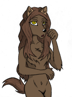 Wolf Woman by Dask01
