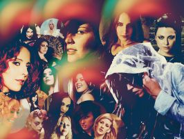 Female Fronted Bands Wallpaper by ALoveHateRomance