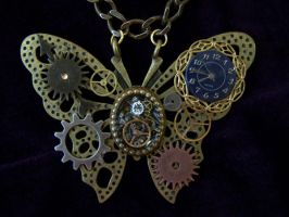 Steampunk Industrial Butterfly by SteamPunkJennie