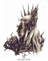 Thranduil. by King-Klaus-Wicked