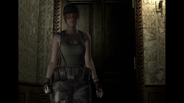 Resident Evil Jill Hall by Mathematic-Hack