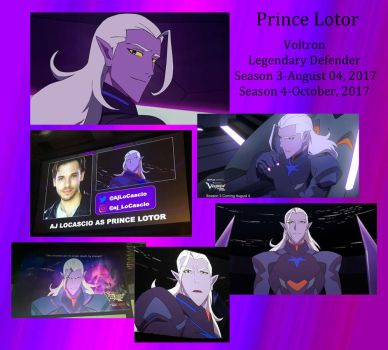 Prince Lotor Coming Soon by Lisa22882