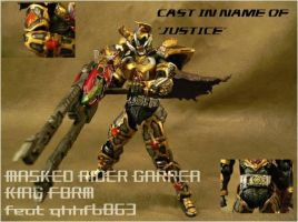 Kamen Rider Garren King S.I.C by fragclone118