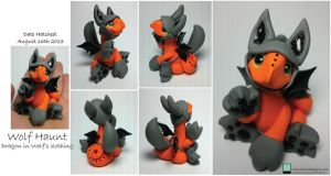 Wolf Dragon by lizzarddesigns