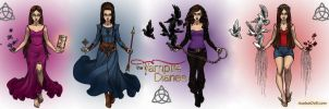 The Vampire Diaries Doppelgangers by LadyRaw90