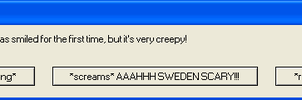 Sweden Error Message by Shake666Productions