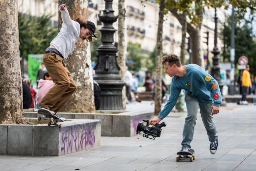 Skaters by ericdufour-Photograp