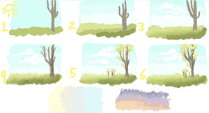 Quick Background Tutorial by TheRoguez