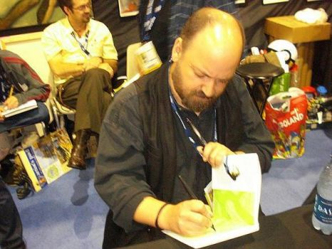 Dave Mckean by SymbolicSin