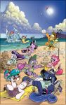 MLP Day at the Beach by andypriceart