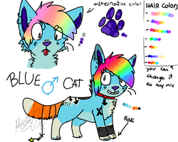 Blue's Ref by Squirrelings