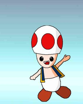 Toad SSB by fruitypixels