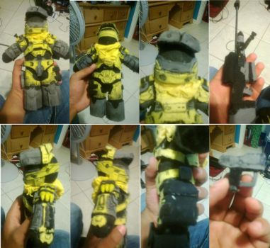 Custom Halo Plush by Shogun95