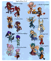 Angels and Demon Tier 2 AUCTION [CLOSED] by SeraphEnigma23
