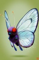 Pokemon Project 010 Butterfree by Lo0bo0