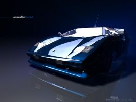 Lambo Countach by waldemarart