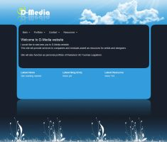 D-Media website by demoshane