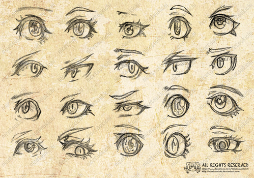CONCEPT: EYES # 01 by nicetsukichi