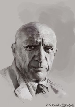 Painting study Picasso  by kemsso1219