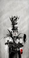 The Chess Queen by Calliopie