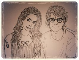 Izzy and Simon by taratjah on DeviantArt #sizzy forever ... |Isabelle Lightwood And Simon Lewis Fan Art
