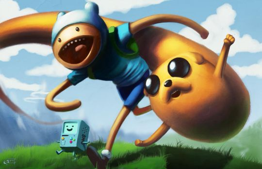 Adventure Time by Emortal982