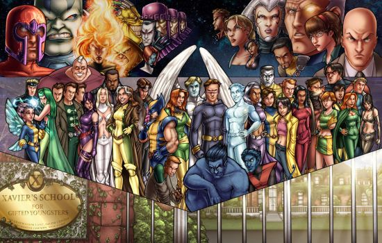X-Men Color by ComfortLove