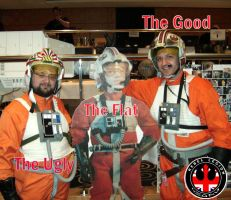 The Good The Flat The Ugly by locomotiva