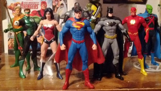 New 52 Justice League by JMoney667