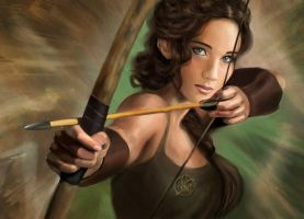 Katniss Everdeen by MartaDeWinter