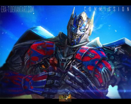 TFAOE: Optimus Prime 3 by ERA-7S
