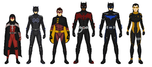 Earth 133: Bat Family by Dudewithasmile