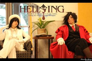 Hellsing: Double Act by BlackRoseMikage