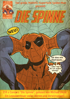 Spider-Man Die Spinne Retro Cover by BouncieD