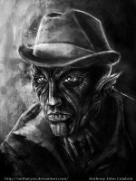 Frank the nosferatu by CalabriaArt