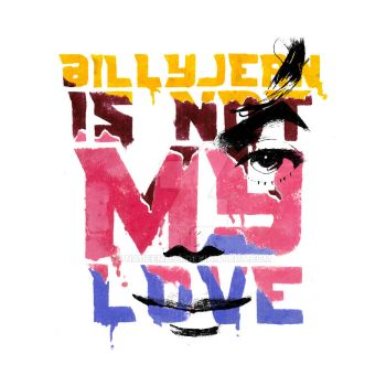 Billy Jean is not my love. by NadeemH93