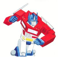 G1 Optimus Prime by ShivatheDestroyer
