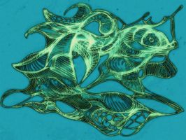 Surreal Turtle, Color by MadGardens