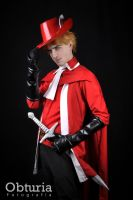 Red Mage 2 by drkitsune
