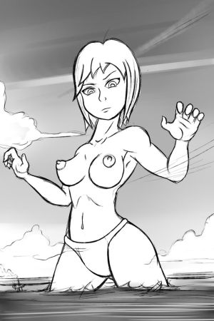 Giantess Draw - Sketch Practice by Colonel-Gabbo