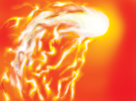 Ball of fire by DrNuclear