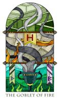 Magic Glass / The goblet of fire by mccink